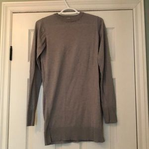 Clean Lines brand in grey long sleeve